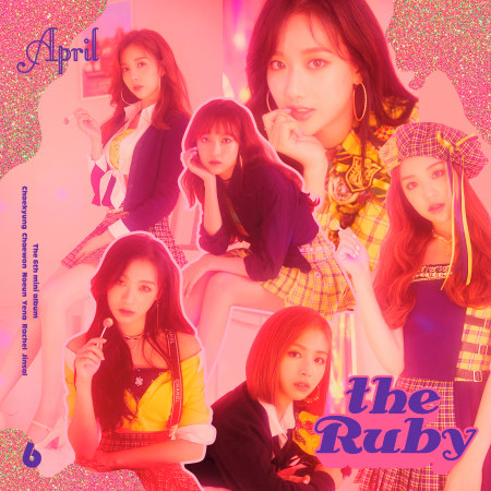 APRIL 6th Mini Album 'the Ruby' 專輯封面