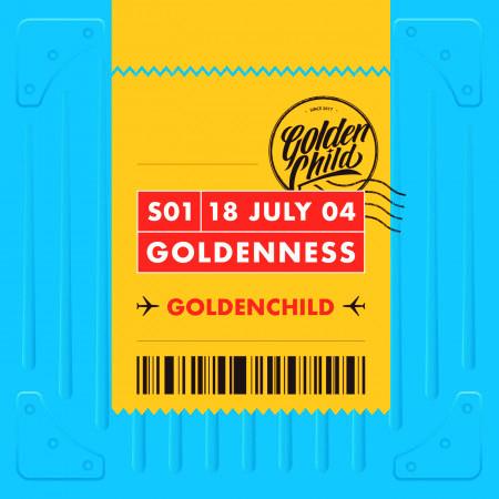 Golden Child 1st Single Album [Goldenness] 專輯封面