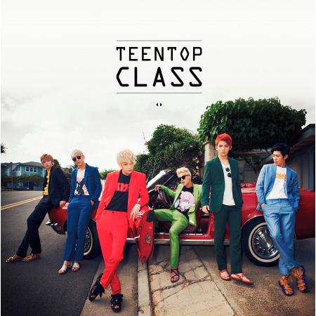 TEEN TOP CLASS 專輯封面