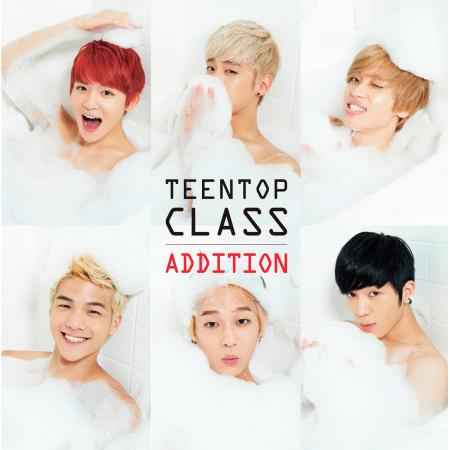 TEEN TOP CLASS ADDITION 專輯封面