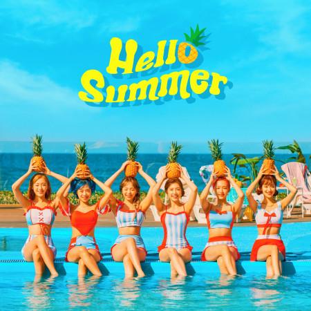 APRIL Summer Special Album 'Hello Summer' 專輯封面