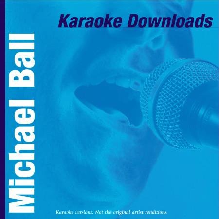 Karaoke Downloads - Michael Ball 專輯封面