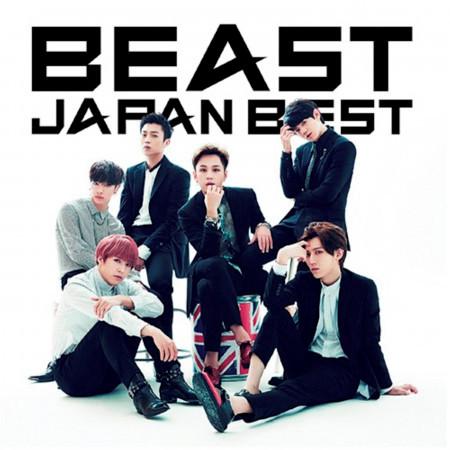 BEAST JAPAN BEST 專輯封面