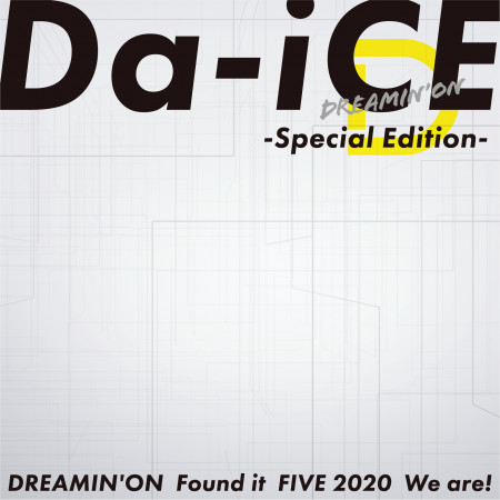 DREAMIN' ON -Special Edition- 專輯封面
