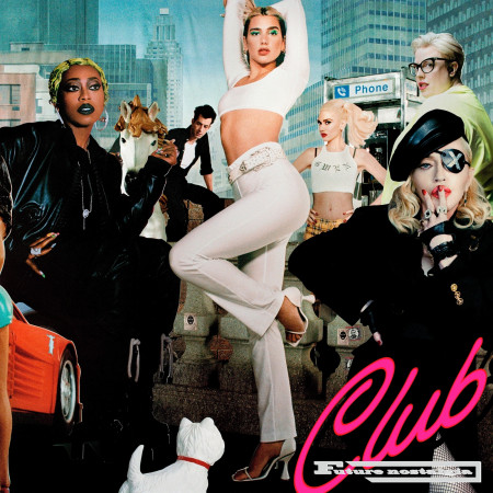 Club Future Nostalgia (DJ Mix) 專輯封面