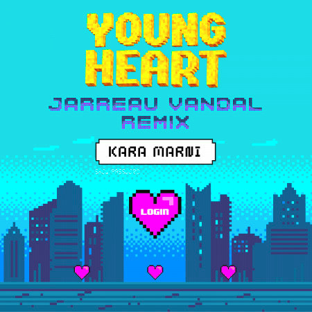 Young Heart (Jarreau Vandal Remix) 專輯封面