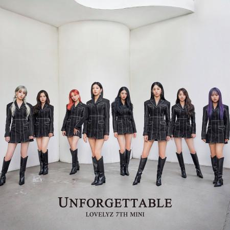 Lovelyz 7th Mini Album [Unforgettable] 專輯封面
