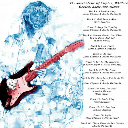 The Sweet Music of Clapton, Whitlock, Gordon, Radle and Allman 專輯封面