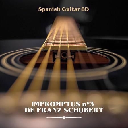 Impromptus Nº3, de Franz Schubert (8D) 專輯封面