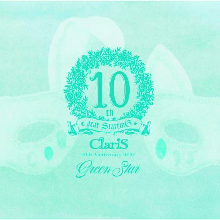 ClariS 10th Anniversary BEST - Green Star - 專輯封面