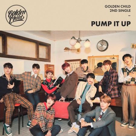 Golden Child 2nd Single Album [Pump It Up] 專輯封面