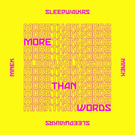 More Than Words (feat. MNEK) 專輯封面