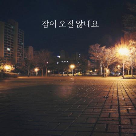 can't sleep 專輯封面