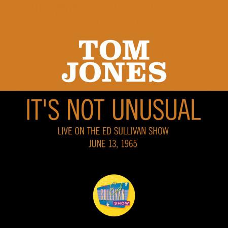 It's Not Unusual (Live On The Ed Sullivan Show, June 13, 1965) 專輯封面
