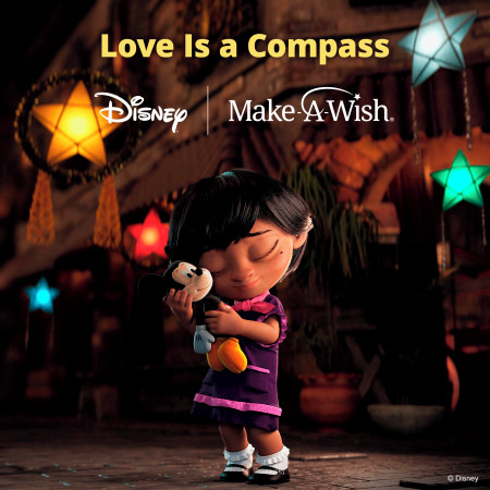 Love Is A Compass (Disney supporting Make-A-Wish) 專輯封面