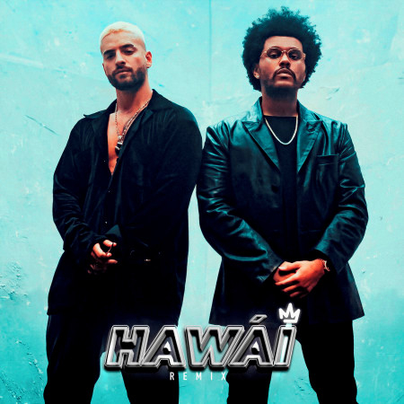 Hawái (Remix) 專輯封面