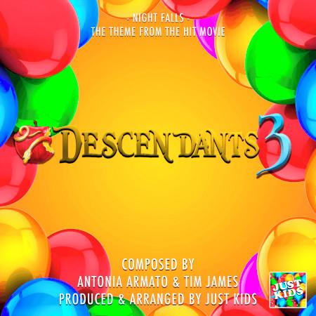 "Night Falls (From ""Descendants 3"") 專輯封面"