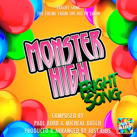 """Fright Song (From """"Monster High"""") 專輯封面"""