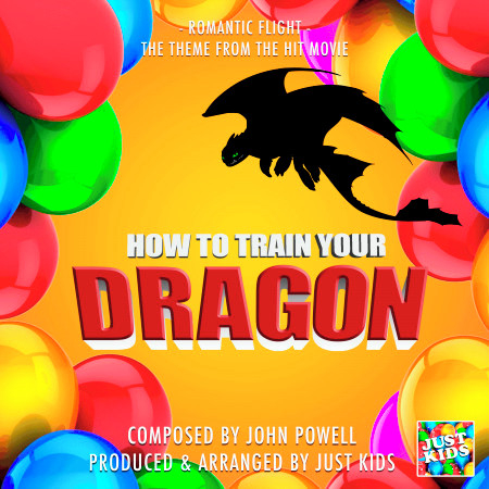 """Romantic Flight (From """"How To Train Your Dragon"""") 專輯封面"""
