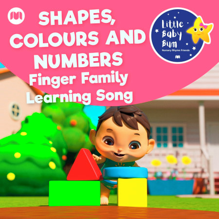 Shapes, Colours and Numbers (Finger Family Learning Song) 專輯封面