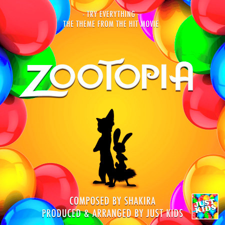 """Try Everything (From """"Zootopia"""") 專輯封面"""
