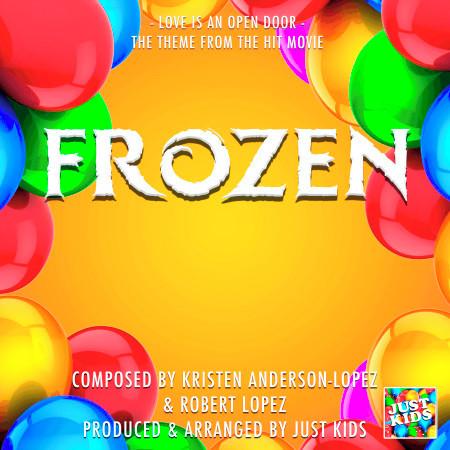"""Love Is An Open Door (From """"Frozen"""") 專輯封面"""
