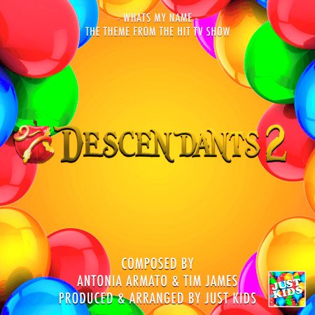 """What's My Name (From """"Descendants 2"""") 專輯封面"""