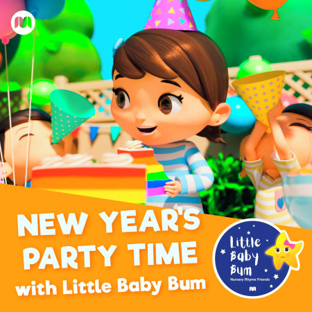 New Year's Party Time with Little Baby Bum 專輯封面