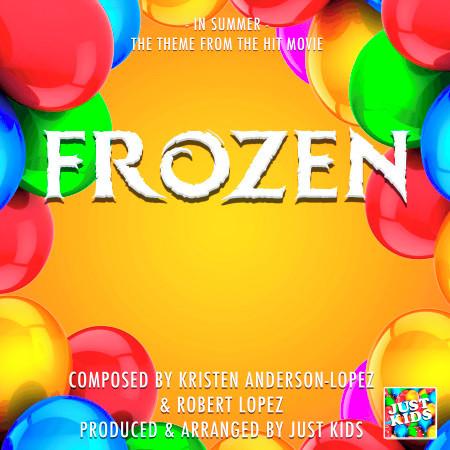 "In Summer (From ""Frozen"") 專輯封面"