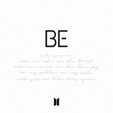 BE 專輯封面
