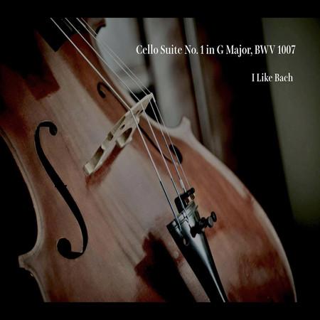 Bach:Cello Suite No. 1 in G Major, BWV 1007 專輯封面