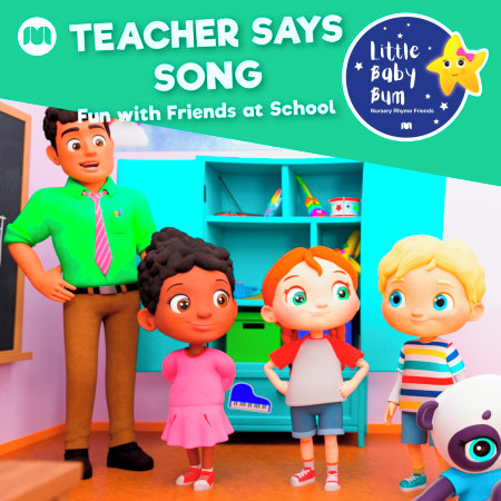 Teacher Says Song (Fun with Friends at School) 專輯封面