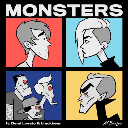 Monsters (feat. Demi Lovato and blackbear) 專輯封面