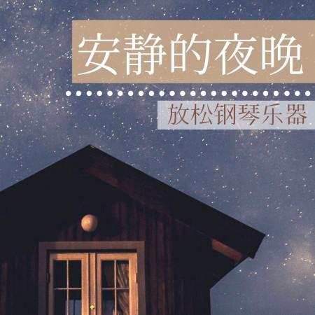 安靜的夜晚: 放鬆鋼琴樂器, 安靜看書鋼琴曲 專輯封面