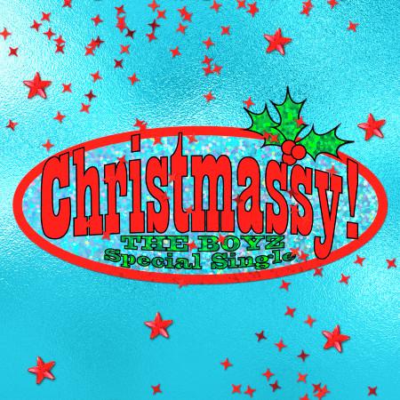 THE BOYZ Special Single 'Christmassy!' 專輯封面