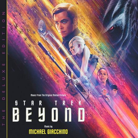 Star Trek Beyond (Music From The Original Motion Picture / Deluxe Edition) 專輯封面