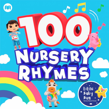 100 Nursery Rhymes 專輯封面
