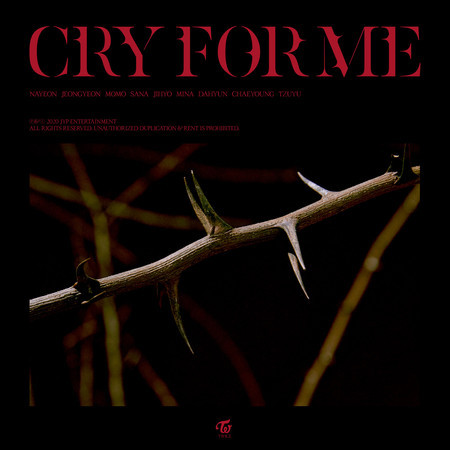 CRY FOR ME 專輯封面