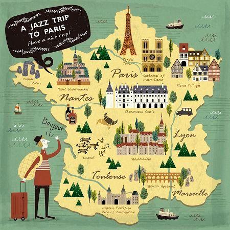 帶著爵士去旅行:(巴黎)《吉普賽爵士篇》 (A Jazz Trip To Paris) 專輯封面