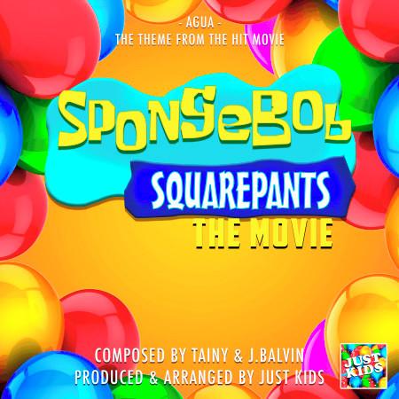 "Agua (From ""Spongebob Squarepants The Movie"") 專輯封面"