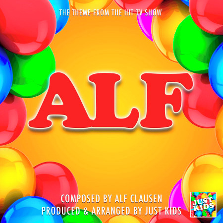 "ALF Main Theme (From ""ALF"") 專輯封面"