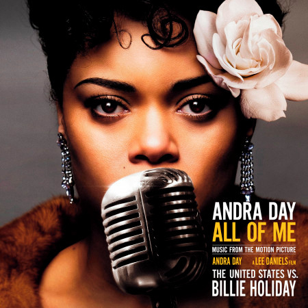 """All of Me (Music from the Motion Picture """"The United States vs. Billie Holiday"""") 專輯封面"""
