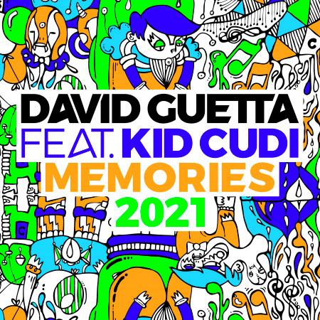 Memories (feat. Kid Cudi) (2021 Remix) 專輯封面