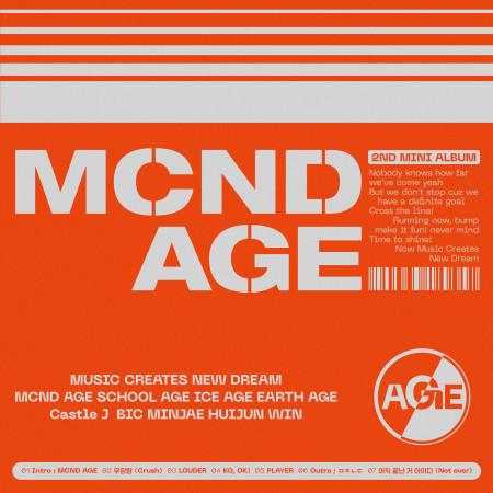 MCND AGE 專輯封面