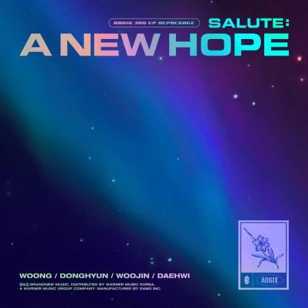 SALUTE: A NEW HOPE 專輯封面