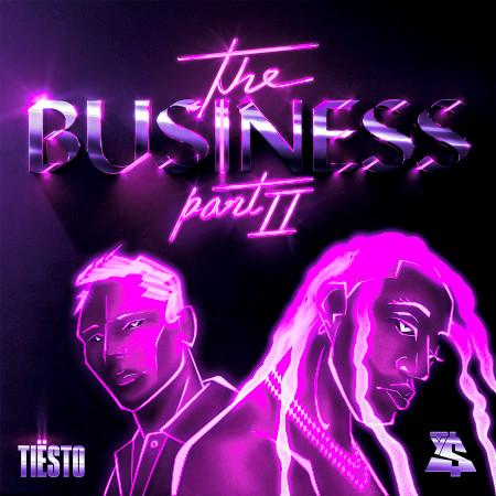 The Business, Pt. II 專輯封面