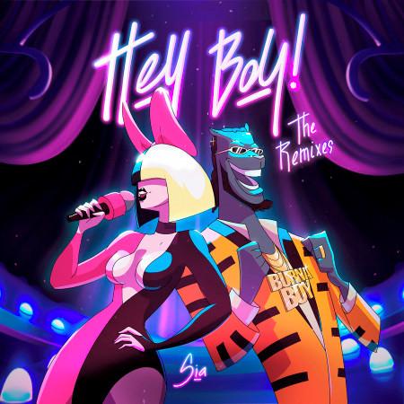 Hey Boy (The Remixes) 專輯封面