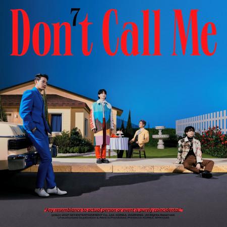 第七張正規專輯『Don't Call Me』 專輯封面