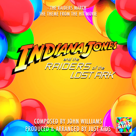 """The Raiders March Indiana Jones Theme (From """"Indiana Jones And The Raiders Of The Lost Ark"""") 專輯封面"""