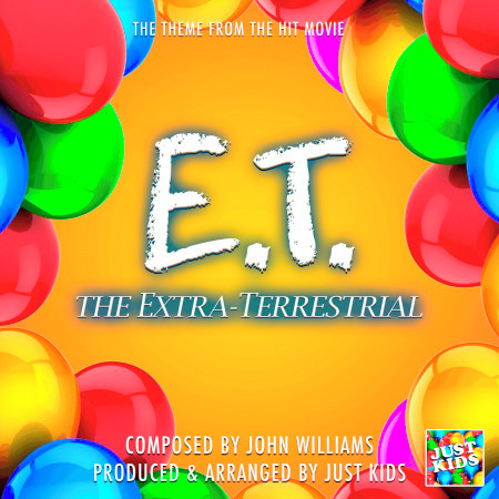 """E.T. The Extra Terrestrial End Credits Theme (From """"E.T. The Extra Terrestrial"""") 專輯封面"""